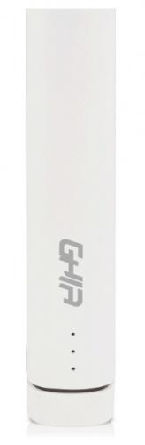 Cargador Portátil Ghia Power Bank Volta GAC-036, 2200mAh, Blanco