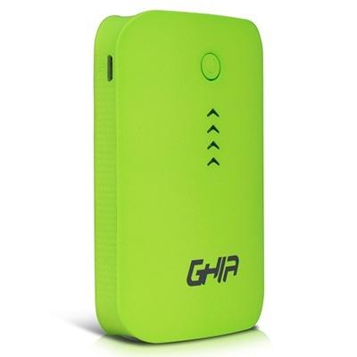 Cargador Portátil Ghia Power Bank Volta GAC-028, 7800mAh, Verde