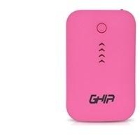 Cargador Portátil Ghia Power Bank Volta GAC-025, 7800mAh, Rosa