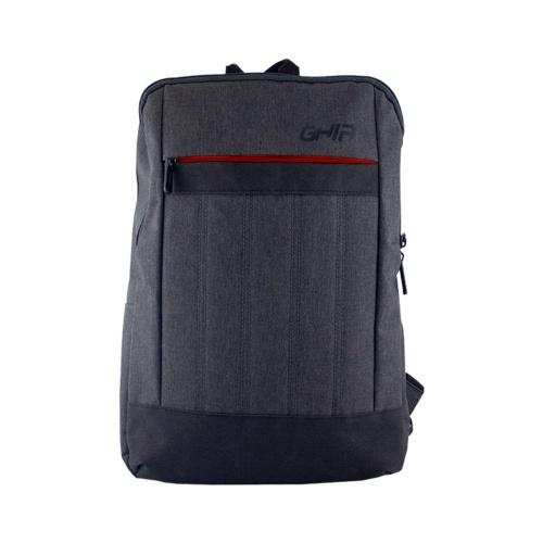 Ghia Mochila de Nylon/Poliéster GM-010R para Laptop 15.6