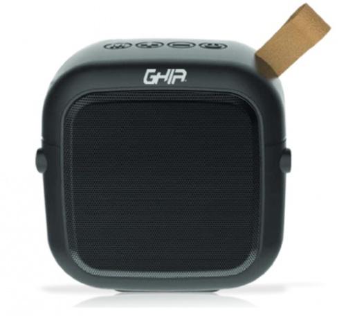 Ghia Bocina Portátil BX90, Bluetooth, Inalámbrico, 3W RMS, USB, Negro