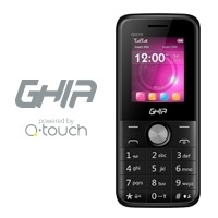 Celular QG10 1.77'', SIM Doble, Bluetooth, Negro