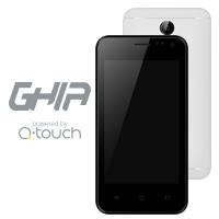 Smartphone Ghia Q05A 4'', 800x480 Pixeles, 3G, Android 7.0, Blanco