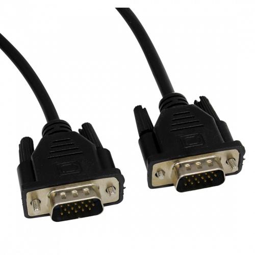 Ghia Cable VGA (D-Sub) Macho - VGA (D-Sub) Macho, 1.8 Metros, Negro