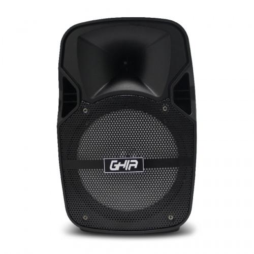 Ghia Bafle GSP-08A, Bluetooth, Alámbrico, 2000W RMS, USB, Negro