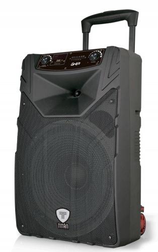 Ghia Bafle GSP-15, Bluetooth, Inalámbrico, 12.000W PMPO, USB, Negro
