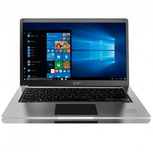 Laptop Ghia Libero E 14.1'' Full HD, Intel Celeron N4000 2.60GHz, 4GB, 500GB + 32GB SSD, Windows 10 64-bit, Plata