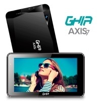 Tablet Ghia AXIS7 7'', 8GB, 1024 x 600 Pixeles, Android 7.0, Bluetooth 4.0, WLAN, Negro