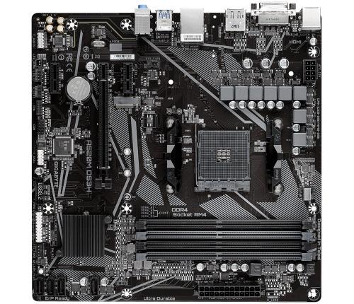 Tarjeta Madre Gigabyte Micro ATX A520M DS3H (REV. 1.0), S-AM4, AMD A520, HDMI, 128GB DDR4 para AMD