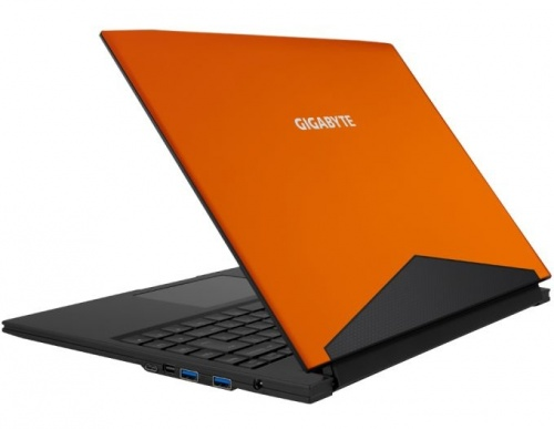 Laptop Gigabyte AERO 14OMX 14'', Intel Core i7-6700HQ 2.60GHz, 8GB, 256GB SSD, NVIDIA GeForce GTX 1060, Windows 10 Home, Negro/Naranja