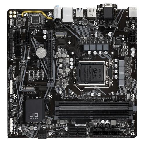 Tarjeta Madre Gigabyte micro ATX B560M DS3H, S-1200, Intel B560 Express, HDMI, 128GB DDR4 para Intel