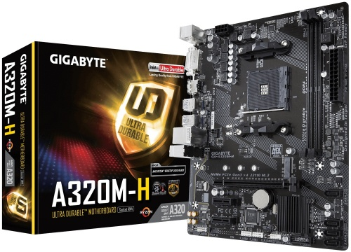 Tarjeta Madre Gigabyte Micro ATX GA-A320M-H, S-AM4, AMD A320, HDMI, 32GB DDR4 para AMD