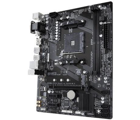 Tarjeta Madre Gigabyte microATX GA-A320M-S2H, S-AM4, AMD A320, HDMI, 32GB DDR4 para AMD