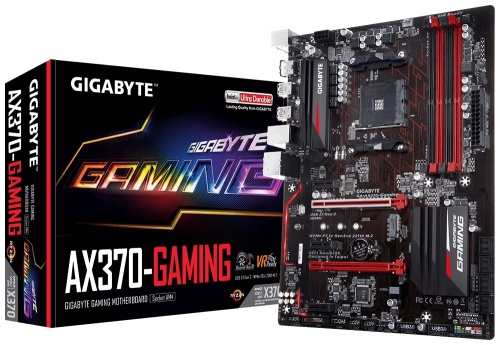 Tarjeta Madre Gigabyte ATX GA-AX370-GAMING, S-AM4, AMD X370, 64GB DDR4, para AMD