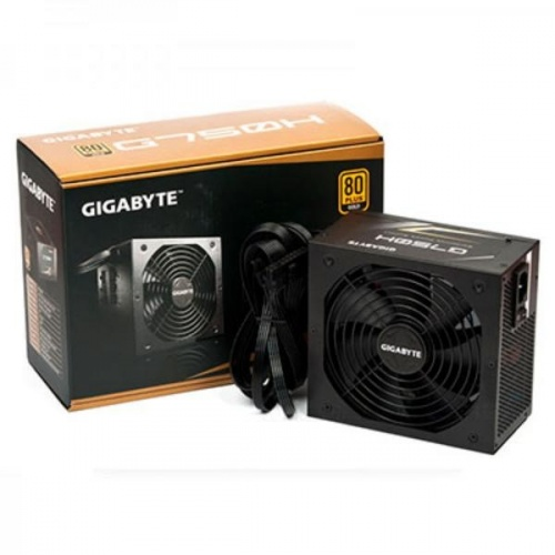 Fuente de Poder Gigabyte G750H 80 PLUS Gold, 20+4 pin ATX, 140mm, 750W