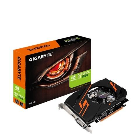 Tarjeta de Video Gigabyte NVIDIA GeForce GT 1030 OC, 2GB 64-bit GDDR5, PCI Express 3.0