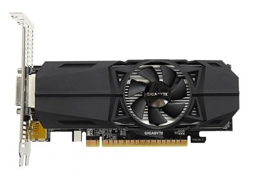 Tarjeta de Video Gigabyte NVIDIA GeForce GTX 1050 OC Low Profile, 2GB 128-bit GDDR5, PCI Express x16 3.0