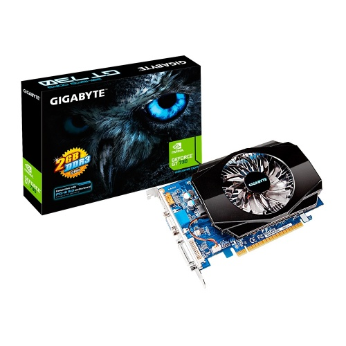 Tarjeta de Video Gigabyte NVIDIA GeForce GT 730, 2GB 128-bit DDR3, PCI Express 2.0