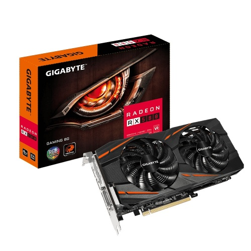 Tarjeta de Video Gigabyte AMD Radeon RX 580, 8GB 256-bit GDDR5, PCI Express x16 3.0