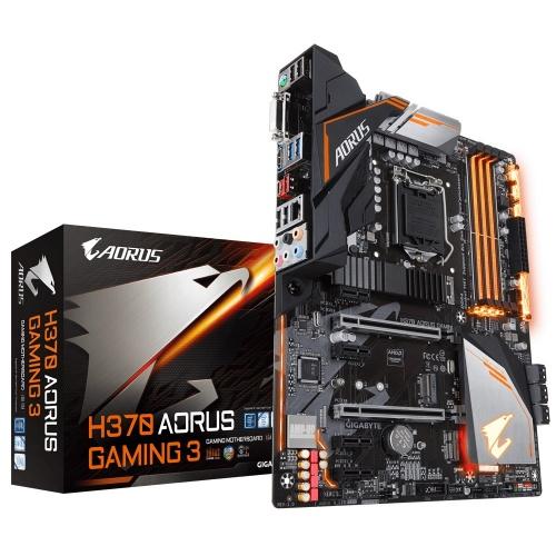 Tarjeta Madre AORUS ATX H370 GAMING 3, S-1151, Intel H370, HDMI, 64GB DDR4 para Intel ― Compatibles solo para 8va Generación