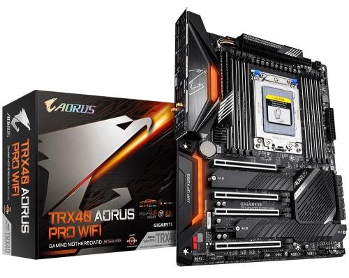 Tarjeta Madre AORUS ATX TRX40 Pro WIFI, S-sTRX4, AMD TRX40, 256GB DDR4 para AMD