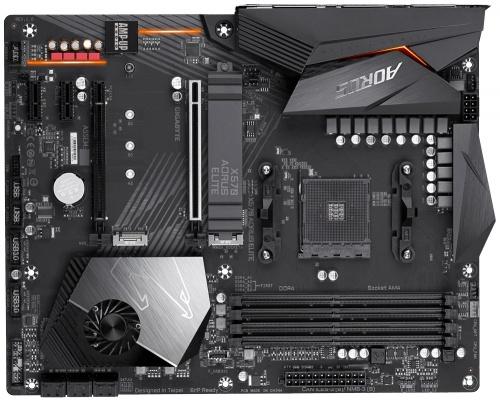 Tarjeta Madre AORUS ATX X570 AORUS ELITE, S-AM4, AMD X570, HDMI, 128GB DDR4 para AMD Ryzen