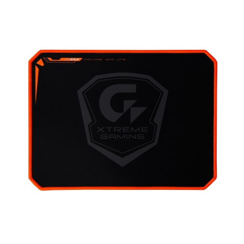 Mousepad Gigabyte XMP300, 35x26cm, Grosor 2mm, Negro/Naranja