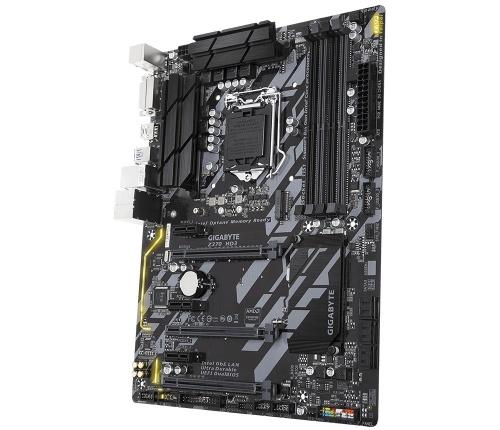 Tarjeta Madre Gigabyte ATX Z370 HD3, S-1151, Intel Z370, HDMI, 64GB DDR4, para Intel ― Compatibles solo para 8va Generación