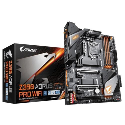 Tarjeta Madre AORUS ATX Z390 AORUS PRO WIFI, S-1151, Intel Z390, HDMI, 64GB DDR4 para Intel