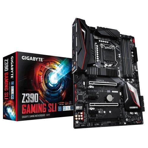 Tarjeta Madre Gigabyte ATX Z390 GAMING SLI, S-1151, Intel Z390, HDMI, 64GB DDR4 para Intel