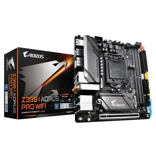 Tarjeta Madre AORUS Mini ITX Z390I AORUS PRO WIFI (rev. 1.0), S-1151, Intel Z390, HDMI, 32GB DDR4 para Intel