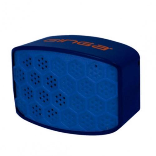 Ginga Bocina Portátil URBAN, Bluetooth, Inalámbrico, Micro-USB, Azul