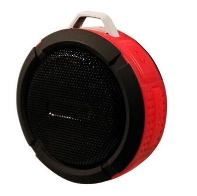 Ginga Bocina Portátil GI16BOC02BT-NR, Bluetooth, Inalámbrico, Micro-USB, Negro  - Resistente al Agua