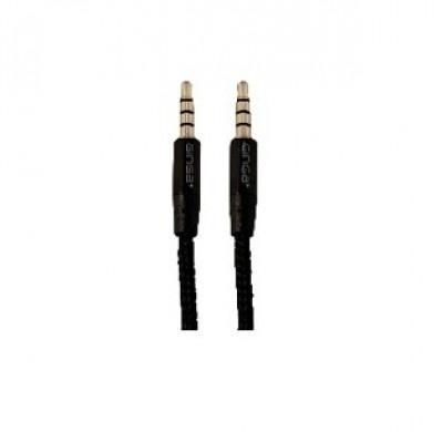 Ginga Cable AUX 3.5mm Macho - 3.5mm Macho, 2 Metros, Negro