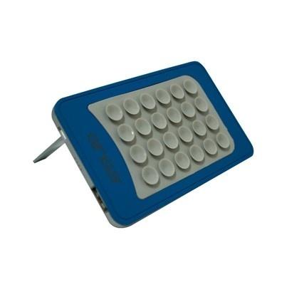 Cargador Portátil Ginga POP PowerBank, 4000mAh, Azul/Gris