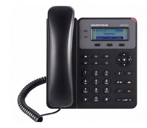 Grandstream Teléfono IP GXP1610, 1 Linea, 3 Teclas Programables, Altavoz, Negro