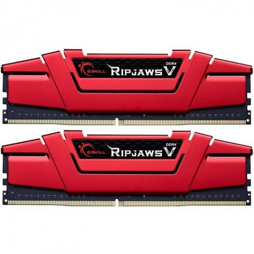 Kit Memoria RAM G.Skill Ripjaws V DDR4, 2666MHz, 16GB (2 x 8GB), Non-ECC, CL19, XMP, 1.35V