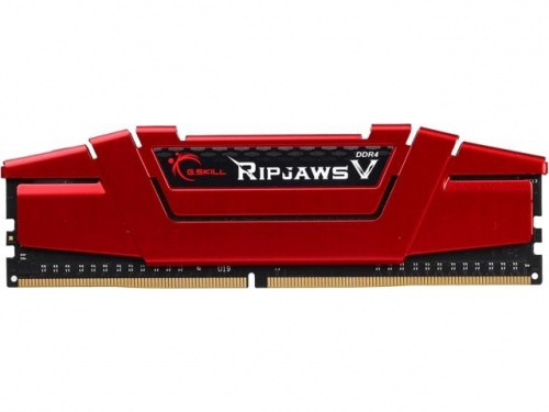 Memoria RAM G.Skill Ripjaws V DDR4, 2800MHz, 8GB, Non-ECC, CL17, Rojo