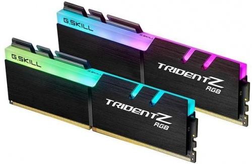 Kit Memoria RAM G.Skill Trident Z RGB DDR4, 3600MHz, 16GB (2 x 8GB), Non-ECC, CL19, XMP, 1.35V