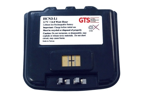 GTS Batteries Batería HCN3-LI, 4000mAh, Negro, para Intermec CN3/CN4
