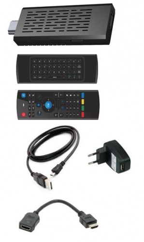 Haier Android SmartTV Kit DMA6000, 1GB, Android 4 1, USB 2 0, Negro