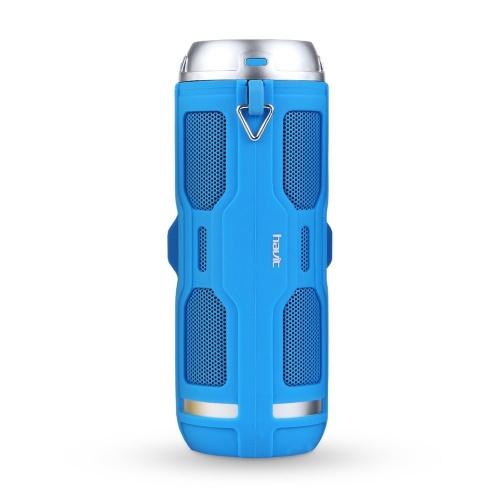 Havit Bocina Portátil HV-M6, Bluetooth, Inalámbrico, 2.0, 6W RMS, Azul