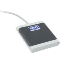 HID Lector de Tarjeta Inteligente OMNIKEY 5022, USB 2.0, Azul