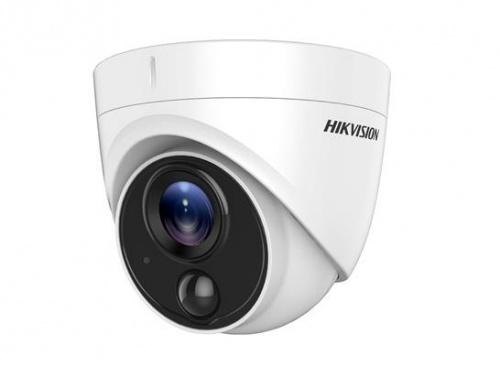 Hikvision Cámara CCTV Domo IR para Interiores/Exteriores DS-2CE71D8T-PIRL, Alámbrico, 1920 x 1080 Píxeles, Día/Noche