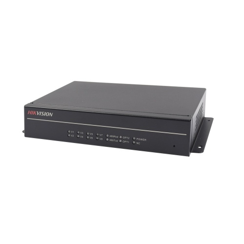 Hikvision Receptor HD-TVI TurboHD por Fibra Óptica DS-3V04R-A/1080P, FC, 4x BNC