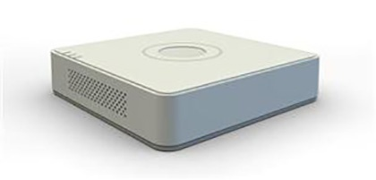Hikvision Mini DVR de 4 Canales DS-7104HGHI-F1 para 1 Disco Duro, max. 6TB, 2x USB 2.0, 1x RJ-45