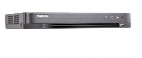 Hikvision DVR de 4 Canales DS-7204HUHI-K1 para 1 Disco Duro, max. 8TB, 1x RJ-45, 2x USB 2.0