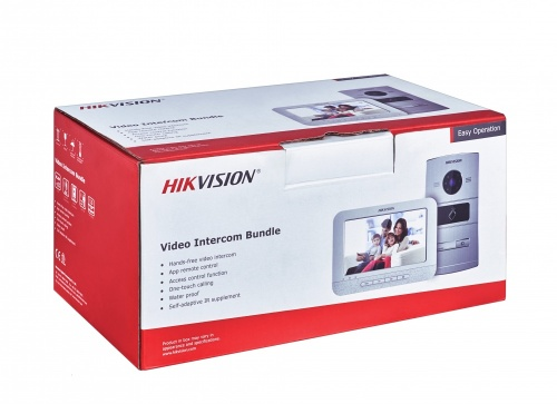 Hikvision Videoportero DS-KIS601 con Monitor Touch 7