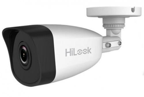 Hikvision Cámara IP Bullet HiLook IR para Interiores/Exteriores IPC-B121, Alámbrico, 1920 x 1080 Pixeles, Día/Noche