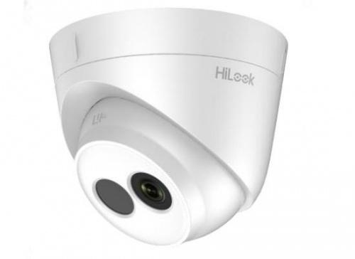 Hikvision Cámara IP Domo IR para Interiores/Exteriores HiLook IPC-T120, Alámbrico, 1920 x 1080 Pixeles, Día/Noche